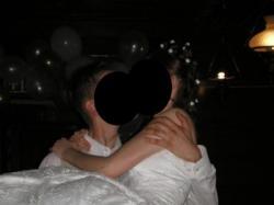 GUSTOWNA suknia ślubna r. 36 z września 2007 roku