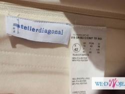 Hiszpańska Atelier Diagonal 818 rozm 38-40- Wrzos