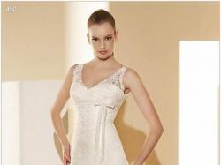 Hiszpańska koronkowa suknia ślubna marki La Sposa