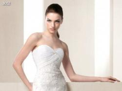 Hiszpańska, koronkowa suknia WHITE ONE 3052