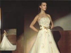 Hiszpańska suknia ślubna Atelier Diagonal 820 należy do jednej z najlepszych kol