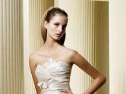 Hiszpańska suknia ślubna FRESA z kolekcji LA SPOSA z salonu Madonna.