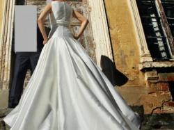 Hiszpańska suknia ślubna Higar Novias, kolekcja 2012, rozm. 38