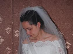 Hiszpańska suknia ślubna koronka ecru Pronovias rozmiar 34