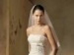 Hiszpańska suknia ślubna LORNA + do kompletu: welon i dopinane ramiączka