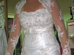 Hiszpańska Suknia Ślubna - na wzór LORN PRONOVIAS