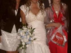 Hiszpańska suknia ślubna rozm.38