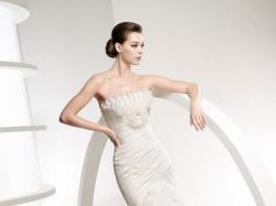 hiszpńska suknia la sposa model libano