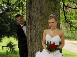 HIT! Suknia ślubna dla prawdziwej księżniczki!!!
