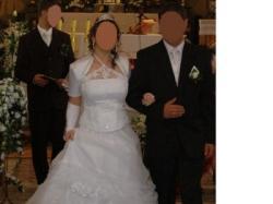 Inna niż wszystkie!!! Piękna biała suknia ślubna!!!