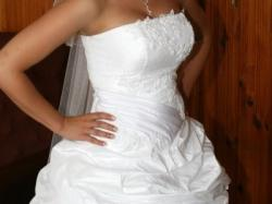 IRYDA - Bajkowa suknia ślubna