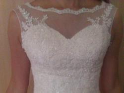 Isabel 2014 z Biały Raj sprzedam elegancką tiulową suknię