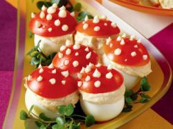 Jajka muchomorki