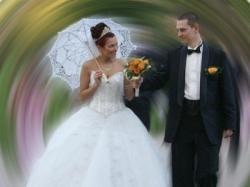 Jedna z piękniejszych sukien ślubnych Demetrios kolekcja 2007