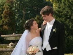 Jednoczęściowa biała suknia ślubna - tanio!!!