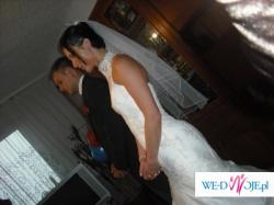 Jednoczęsciowa suknia ślubna Suri, rozm.36
