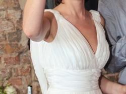 Jedwabna suknia - grecki look!