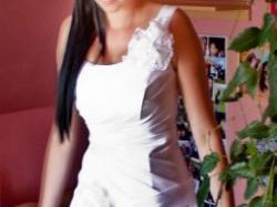 """Jedwabna suknia ślubna """"IGAR"""" – Matylda 2011."""