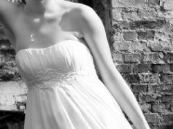 Jedyna taka suknia empire, grecka, 100% naturalny jedwab a'la pronovias!!