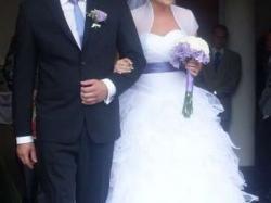 Jedyna taka..suknia ślubna 36,38 + gratisy!