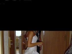 jedyna taka suknia szyta według własnego projektu!!!