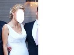 Jedyna w swoim rodzaju przepiekna, biala suknia slubna