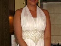 Jedyna w swoim rodzaju suknia ślubna!!!!