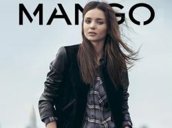 Jesienny lookbook Mango z Mirandą Kerr