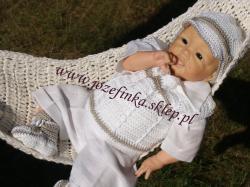 Józefinka ubranka do chrztu