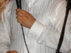kamizelka, koszula Wólczanki, spinki Wólczanki