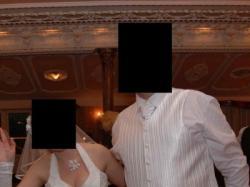 Kamizelka ślubna biała roz.58
