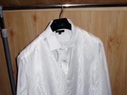 Kamizelka ślubna krawat butonierka! duży rozmiar