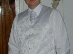 Kamizelka ślubna męska