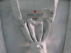 KAMIZELKA ŚLUBNA + MUSZNIK (ROZMIAR M)   Sunset Suit