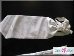 Kamizelka ślubna Pierre Larett rozmiar 50 ecru