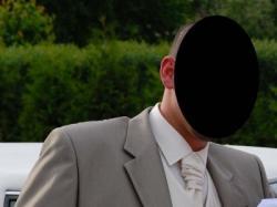 kamizelka ślubna roz 56
