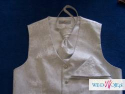 Kamizelka ślubna Sunset Suits, biała L