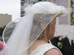 Kapelusz do ślubu