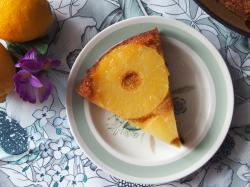 Kasia Gotuje z Polki.pl - Odwrócone ciasto ananasowe