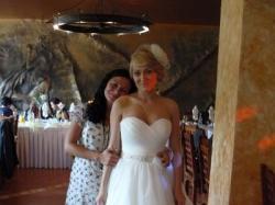 Kasiężniczka , Suknia Ślubna ecru