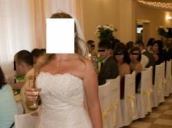 Kivor piękna suknia ślubna francuskiej firmy Herms
