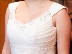 Klasyczna elegancka suknia ślubna