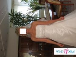 Klasyczna ,piekna suknia slubna, do sprzedania,niedrogo!