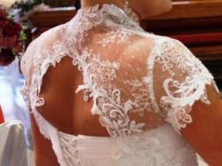 Klasyczna suknia AGORA z kryształkami Swarowskiego