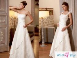 Klasyczna suknia Julia Rosa 624 rozm. 36