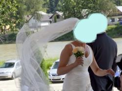 Klasyczna suknia ślubna + gratisy