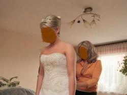 Kolekcja WHITE ROSE - niepowtarzalna suknia Swarovski