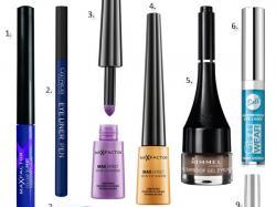 Kolorowe eyelinery – przegląd