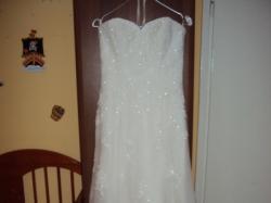 Koronkowa, śliczna suknia! Tanio Sprzedam!!!