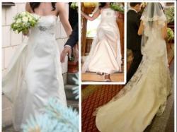 Koronkowa suknia Delicate de Villais z roku 2008. Model DERBY